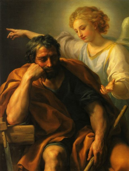 The Dream of St Joseph by Anton Raphael Mengs